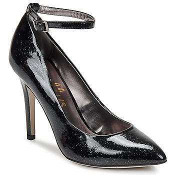 Court-shoes Shellys London STAR Black / GLITTER 350x350