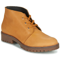 Shoes Women Mid boots Casual Attitude NIBELLULE Camel