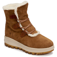 Shoes Women Mid boots Casual Attitude NAREIGNE Camel