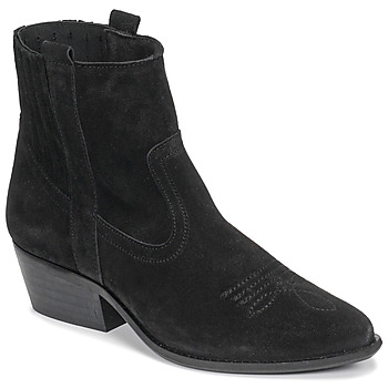 Shoes Women Ankle boots Casual Attitude NAUTERELLE Black