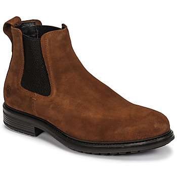 Shoes Men Mid boots Casual Attitude NONILLE Brown
