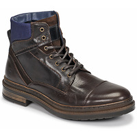 Shoes Men Mid boots Casual Attitude NYSOPE Brown