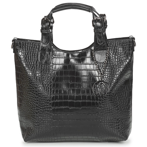 Bags Women Handbags Moony Mood EMIRA CROCO Black