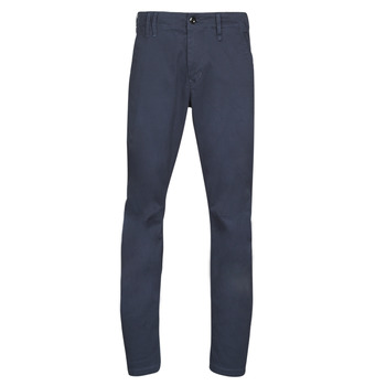 material Men chinos G-Star Raw VETAR SLIM CHINO Mazarine / Blue