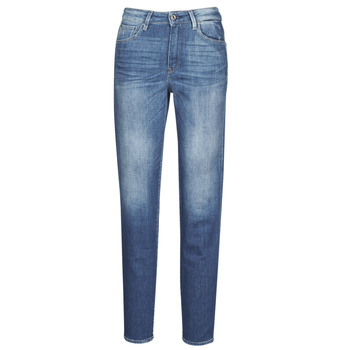 material Women straight jeans G-Star Raw 3301 HIGH STRAIGHT 90'S ANKLE WMN Faded / Cobalt