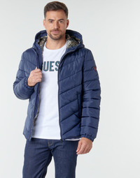 material Men Duffel coats Guess SUPER LIGHT PUFFA JKT Marine