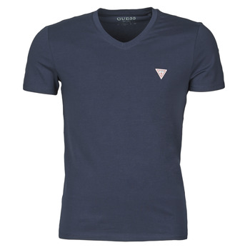 material Men short-sleeved t-shirts Guess VN SS CORE TEE Marine
