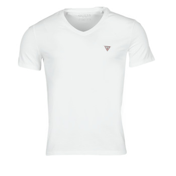 material Men short-sleeved t-shirts Guess VN SS CORE TEE White