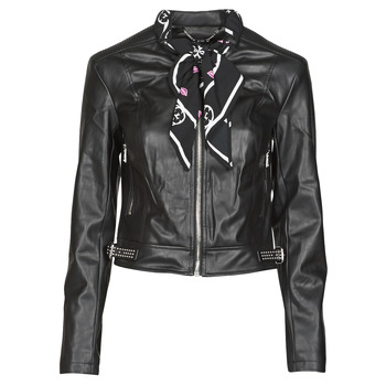 material Women Leather jackets / Imitation leather Guess NEW JONE JACKET Black