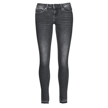 material Women Skinny jeans Guess HOXTON Black