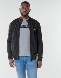 material Men sweaters Guess AL TRUCK FLEECE Black