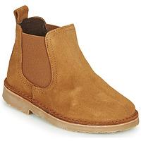 Shoes Children Mid boots Citrouille et Compagnie HOVETTE Camel