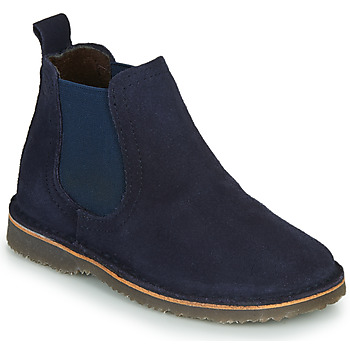 Shoes Children Mid boots Citrouille et Compagnie HOVETTE Blue