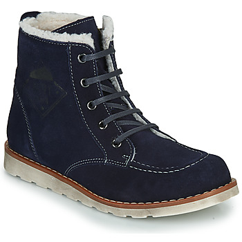 Shoes Boy Mid boots Citrouille et Compagnie LISITON Marine