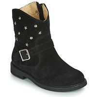 Shoes Girl Mid boots Citrouille et Compagnie NESTI Black