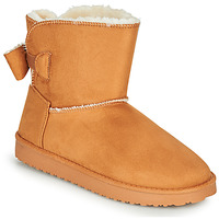 Shoes Women Mid boots Moony Mood NOWER Camel