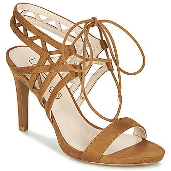 Shoes Women Sandals Les Petites Bombes MACHA Camel
