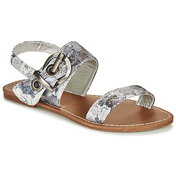 Shoes Women Sandals Les Petites Bombes PERVENCHE Grey