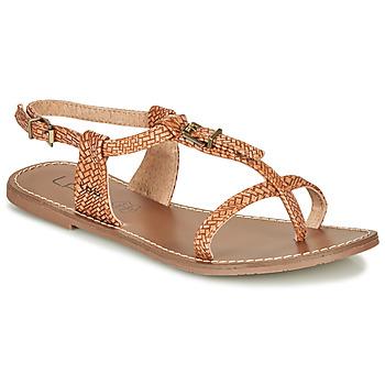 Shoes Women Sandals Les Petites Bombes ZHOEF Camel