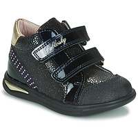 Shoes Girl High top trainers Pablosky 87529 Marine