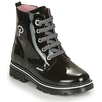 Shoes Girl Mid boots Pablosky 489819-J Black