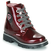 Shoes Girl Mid boots Pablosky 489869 Bordeaux