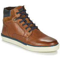 Shoes Men High top trainers Redskins CHARDON Cognac / Marine