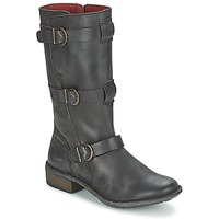 Shoes Women Boots Kickers GROWUP Black