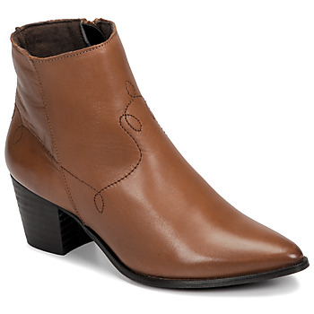 Shoes Women Ankle boots Betty London NIMIE Camel