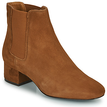 Shoes Women Ankle boots Betty London NALANE Cognac