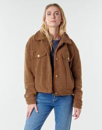 material Women Jackets / Blazers Vila VIABBI Camel