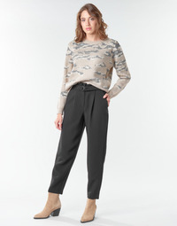 material Women cropped trousers Vila VICHARLOTTE Black