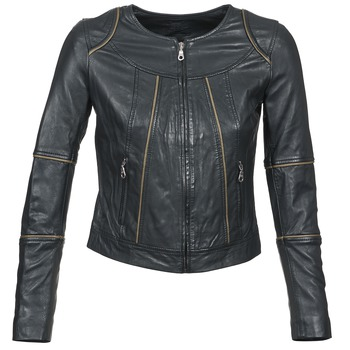 material Women Leather jackets / Imitation leather Kookaï VIDITE Black