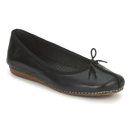 Ballerinas Clarks FRECKLE ICE Black 350x350