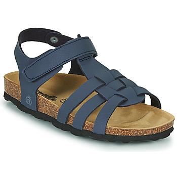 Shoes Boy Sandals Citrouille et Compagnie JANISOL Blue
