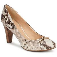 Shoes Women Court shoes Geox MARIECLAIRE POMA Beige