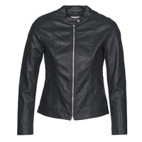 material Women Leather jackets / Imitation leather JDY JDYSTORMY Black