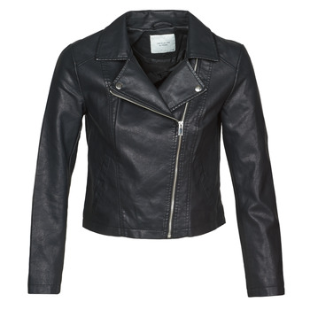 material Women Leather jackets / Imitation leather JDY JDYSIMBA Black