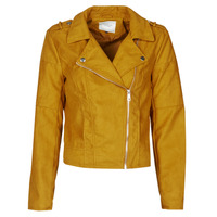 material Women Leather jackets / Imitation leather JDY JDYNEW PEACH Mustard