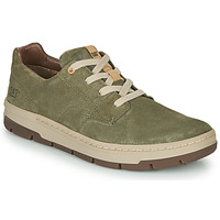 Shoes Men Low top trainers Caterpillar RIALTO NUBUCK Green