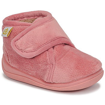 Shoes Girl Slippers Citrouille et Compagnie HALI Old / Pink