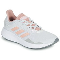 Shoes Low top trainers adidas Performance DURAMO 9 Grey / Pink