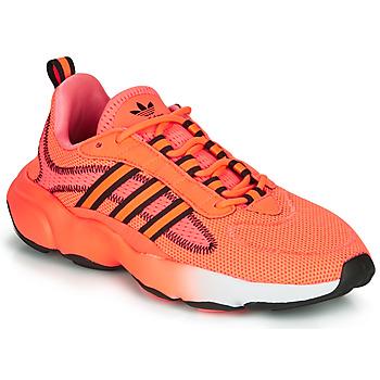 Shoes Women Low top trainers adidas Originals HAIWEE J Orange / Black