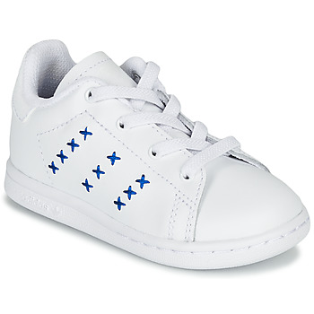 Shoes Children Low top trainers adidas Originals STAN SMITH EL I White