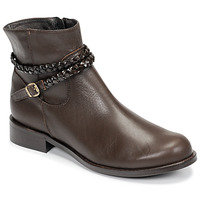 Shoes Women Mid boots So Size OSCARDO Brown