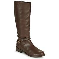 Shoes Women Boots So Size AURELIO Brown