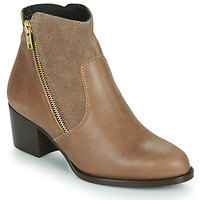 Shoes Women Ankle boots So Size FELICIO Camel
