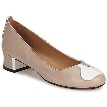 Shoes Women Court shoes Robert Clergerie SALSA Beige white