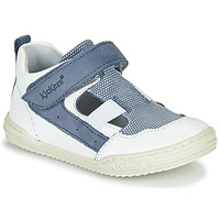 Shoes Boy Sandals Kickers JASON White / Blue