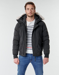 material Men Duffel coats Casual Attitude NIFFO Black